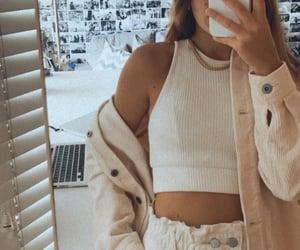 fashion, Zara, and mirror image