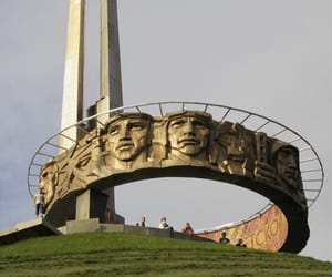 architecture, belarus, and memorial image