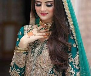 bridal, mehndi, and style image
