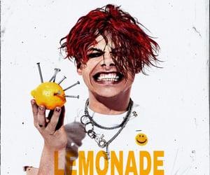 lemonade, yellow, and yungblud image
