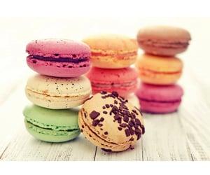 Cookies and macarons image