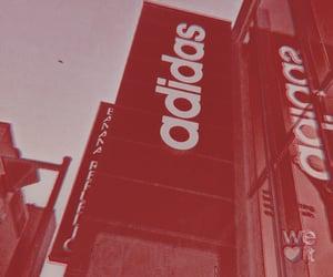 adidas, shopping, and theme image