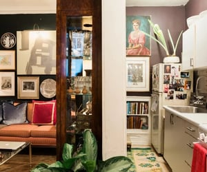 art, eclectic, and home image
