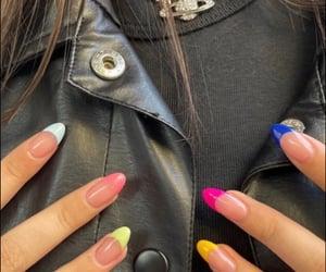 nails, fun nails, and beauty image
