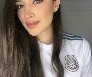 pretty, mexican girl, and beauty image