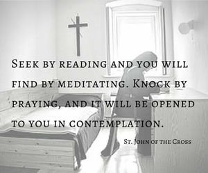 contemplation, quotes, and katholisch image
