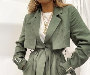 clothes, olive, and green image