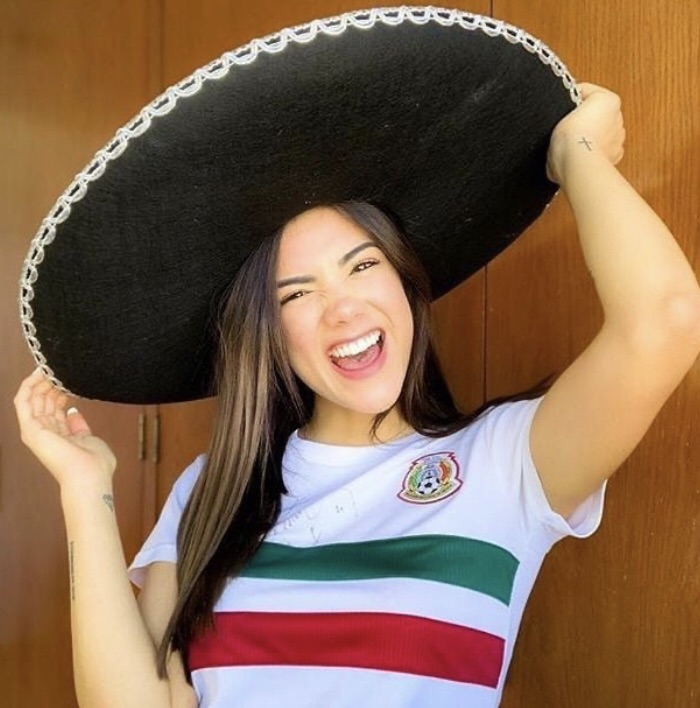 beauty, mexicana, and girl image