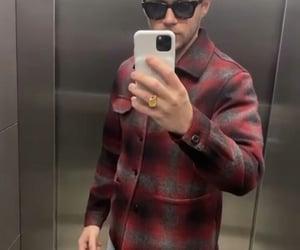 elevator, niall horan, and selfie image