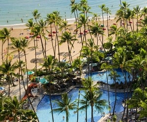 hawaii, travel destination, and vacation image