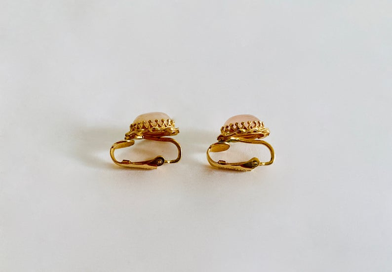 etsy, estate jewelry, and elegant earrings image