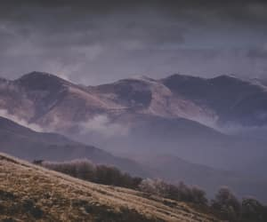 countryside, mountains, and nature image