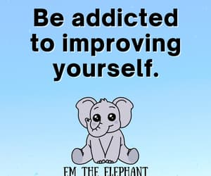 elephant, inspiration, and life quote image