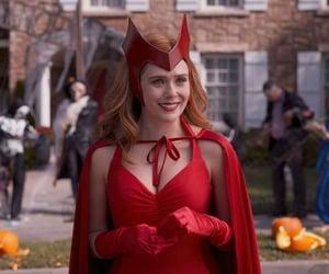 elizabeth olsen, scarlet witch, and mcu image