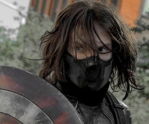 Avengers, winter soldier, and Marvel image