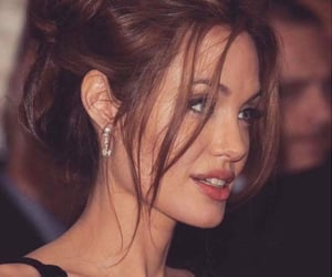 Angelina Jolie, brunette, and celebrity image