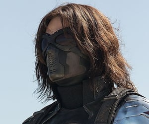 winter soldier, bucky, and sebastian stan image