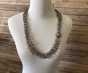 etsy, whimsical, and silver necklace image