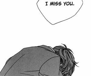 anime, i miss you, and sad image