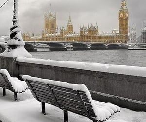 cold, white, and london image