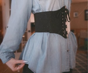 aesthetic, alt, and corset image