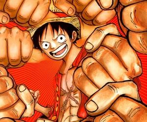anime, manga, and monkey d luffy image