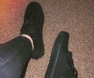 alternative, goth, and vans image
