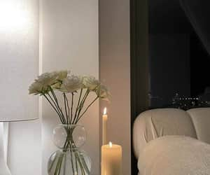 candles, cozy, and decoration image
