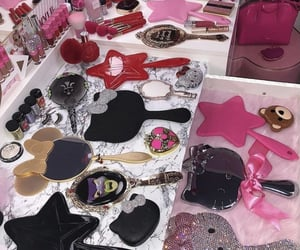 accessories, collection, and pink image
