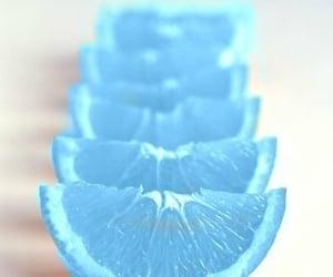 blue, orange, and fruit image