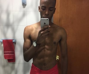 abs, African, and boys image