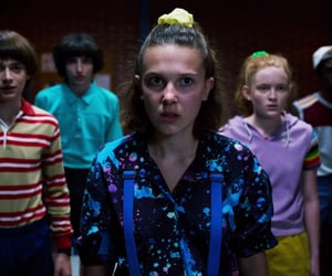 eleven, netflix, and stranger things image
