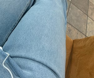 aesthetic, jeans, and legs image