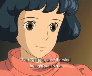 wind, anime, and studio ghibli image