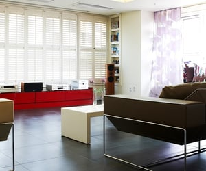 shutters, plantation shutters, and wooden shutter blinds image