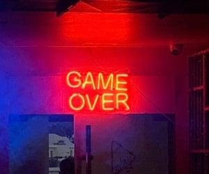 game, lights, and night image