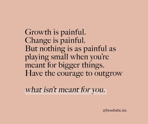 pain, change, and growth image