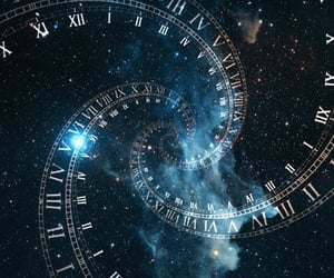 infinity, time, and universe image