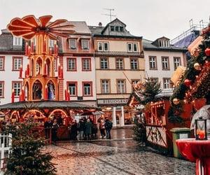 city and christmas image