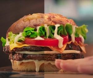ads, prints, and burger king image