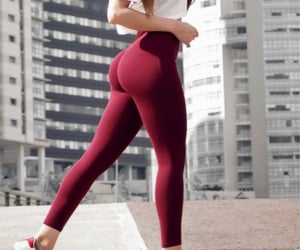 females, fitness, and glam image