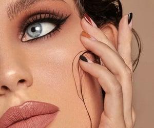 cosmetics, manicure, and eyeliner image
