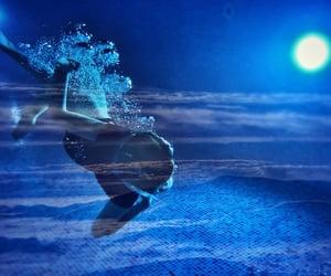 mountains, underwater, and underworld image