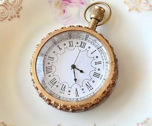 aesthetic, vintage, and clock image