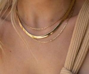 gold jewelry, jewelry, and fashion image