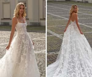 ball gown, dresses, and wedding image
