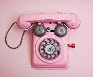 call, phone, and vintage image