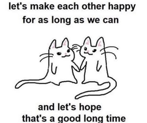 cats, couple, and dating image