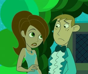 cartoon, couple, and kim possible image