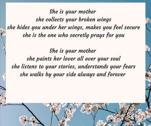 mother, strong woman, and love you image